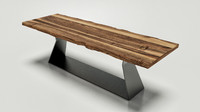 3d model riva table