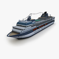 3ds max cruise ship