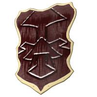 shield medieval 3d model