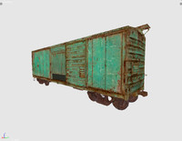 old cargo vagon 3ds