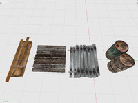 3d 3ds construction pack