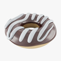 donut 02 3d 3ds