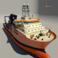 ship toisa vessel 3d model