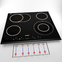 Cooking touch panel