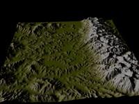 maya alpine scenes terrain