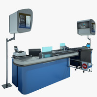 Cash Counter shop 08