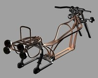 3ds max motorcycle frame spider