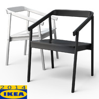 esbjorn dining chair 3d 3ds