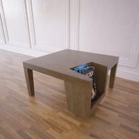 coffee table artelano 3d model
