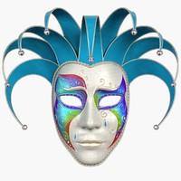 3dsmax mask pierrot