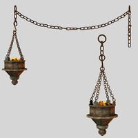 3d lantern fantasy