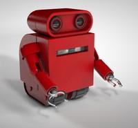 toy robot c4d