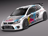 3d model 2013 2014 volkswagen rally