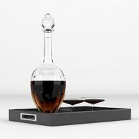cognac 3d max