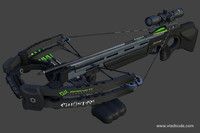 crossbow barnett ghost 400 3d model