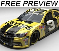 free 3ds mode 2014 nascar chevrolet ss