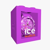 c4d purple ice watch