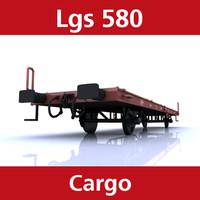 cargo lgs 580 3d 3ds
