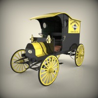 3ds max chase truck antique