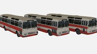 karosa sm11 city bus 3ds