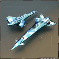 spaceship ships 3d x