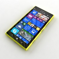 3d model nokia lumia 1 yellow
