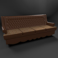 sofa captone 3d model