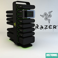 3d model razer christine