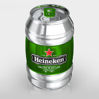 heineken modeled c4d