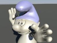 3D smurf