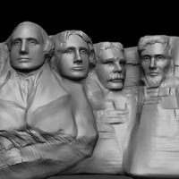 mount rushmore zbrush 3ds