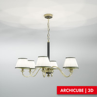 3d model ceiling lamp
