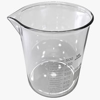 3ds max beaker 500 ml