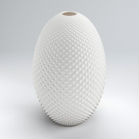 3ds max diamond cut egg vase