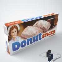 little debbie donut sticks max