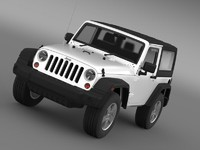 Jeep Wrangler UK Sport 2008