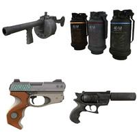 weapon 3d 3ds