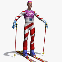 skier skis max