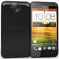 3d model htc desire 501 black