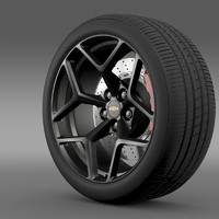 Chevrolet Camaro Z28 2014 wheel