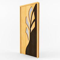 3d interroom doors model