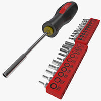 3d bit driver screwdriver set