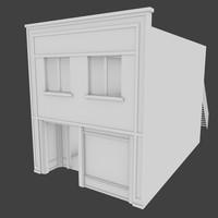 blend storey building