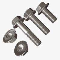 maya hex bolt nut