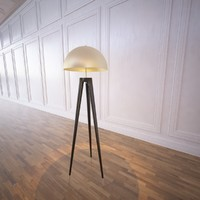 fife tripod lamp 3d model