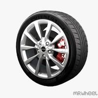 3d obj wheel mrwheel