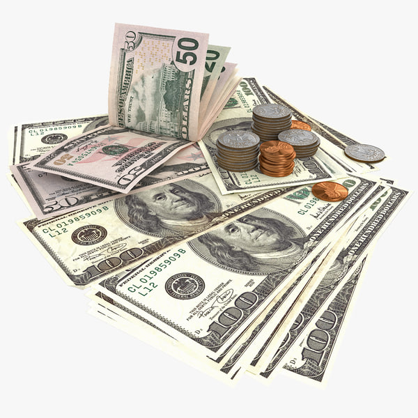 Image result for US dollar banknotes and coins