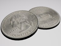 obj quarter dollar