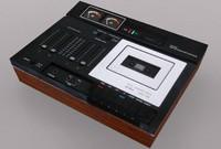 3d aciko acd-1100 cassette deck model