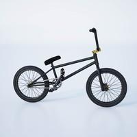 3d model of bmx bike
